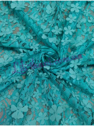 Гипюр 3d цветы