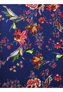 Штапель турецкие цветы
