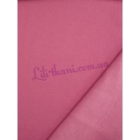 Трикотаж розовый трехнитка